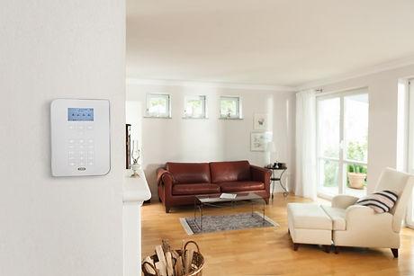 Secvest_Alarmzentrale_Wohnzimmer