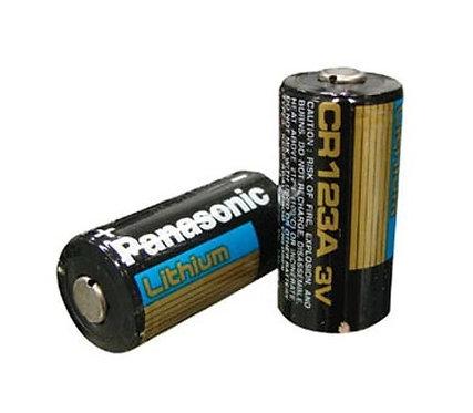 Lithium - Batterie CR123A 3V