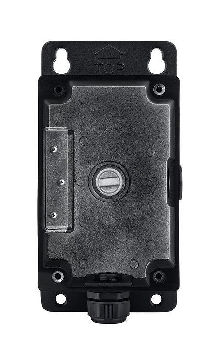 Installationsbox schwarz für Dome- / Tube- Kamera