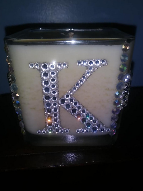 Custom Letter Candle