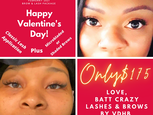 Lashes & PMU Brows VDay Special