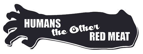 HUMANS - The other red meat! Zombie Decal Sticker