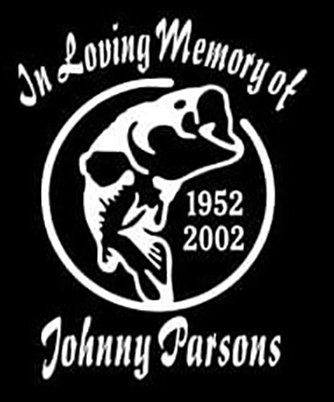 In loving memory of bass fishing Decal Sticker