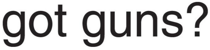 Got Guns? Decal Sticker