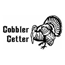 Gobbler Getter TURKEY Hunting Window Decal Stick
