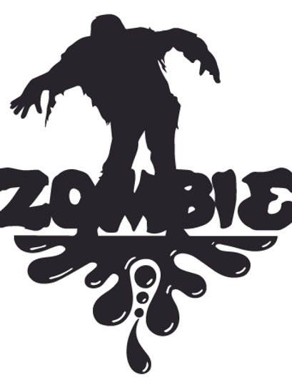 ZOMBIE SPLASH Decal Sticker