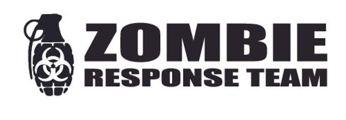 ZOMBIE RESPOSE TEAM - Biohazard Grenade Decal Sticker