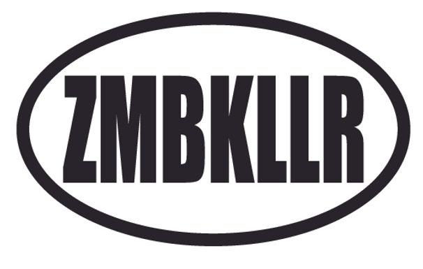 ZMBKLLR Zombie Killer Decal Sticker
