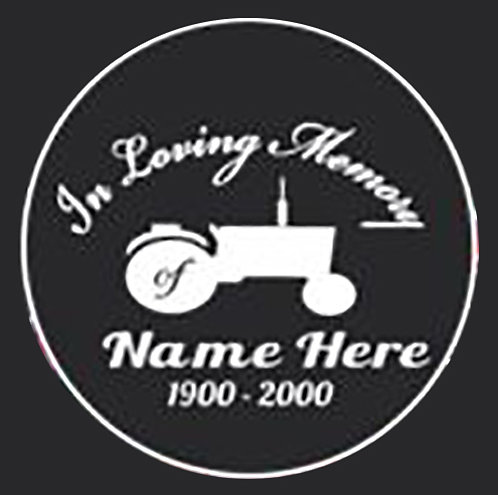 In loving memory of tractor farming Decal Sticker