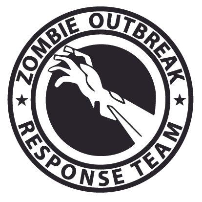 DEAD of DEAD ZOMBIE OUTBREAK RESPONSE TEAM Decal Sticker