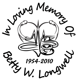 In loving memory of heart Decal Sticker