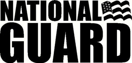 National Guard Stickers