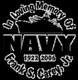 In loving memory of NAVY Decal Sticker