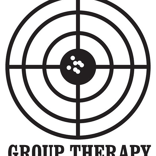 GROUP THERAPY Gun Decal Sticker
