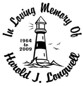 In loving memory of lighthouse 3 Decal Sticker