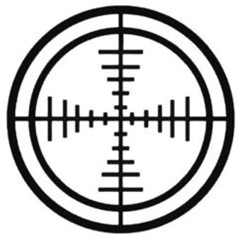 CROSSHAIR Hunting Decal Sticker 5