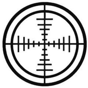 CROSSHAIR Hunting Decal Sticker 5
