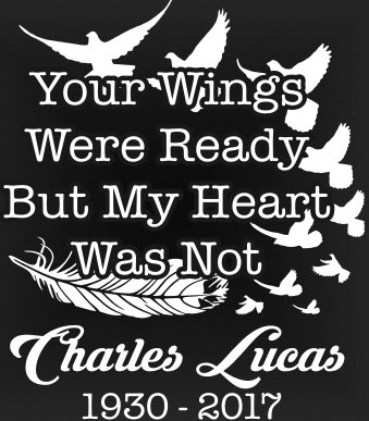 Your wings were ready, but my heart was not Decal Sticker