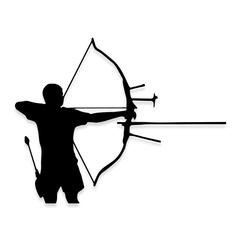 Bow Hunter Hunting Decal Sticker