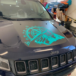 Jeep Compass Decal