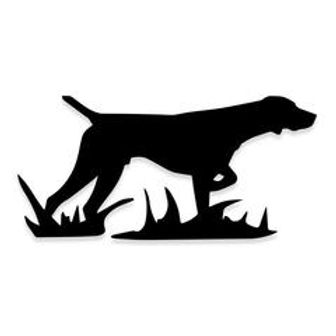 Lab Retriever Pointer Hunting Dog Decal Sticker
