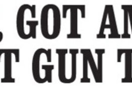 Yep, GOT AMMO Got Gun Too Gun Decal Sticker