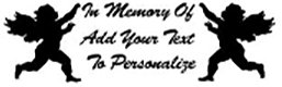 IN MEMORY OF beautiful baby angels Decal Sticker