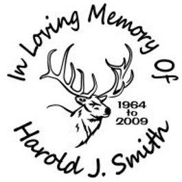 In loving memory elk hunter Decal Sticker