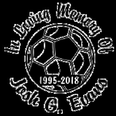 In loving memory of soccer football Decal Sticker