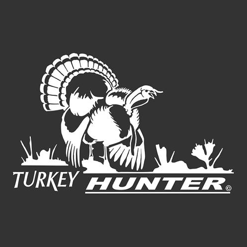 Turkey Hunter TURKEY Hunting Window Decal Sticker 1