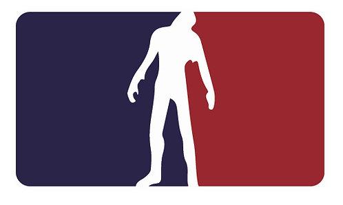 NATIONAL  ZOMBIE ASSOCIATION Decal Sticker