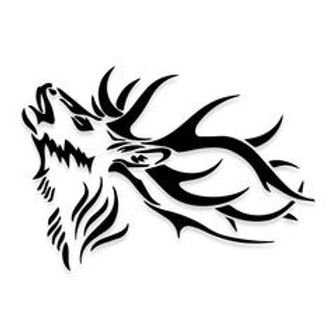 BIG GAME Elk Hunting Decal Sticker
