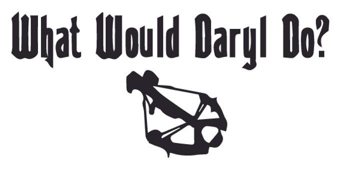 WWDD? - Walking Dead Decal Sticker