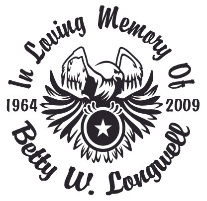 In loving memory of eagle Decal Sticker