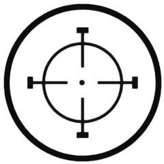 CROSSHAIR Hunting Decal Sticker 1