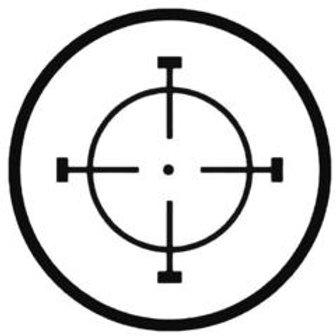 CROSSHAIR Hunting Decal Sticker 1