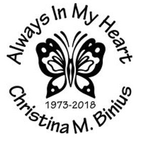 BUTTERFLY Always in my heart In loving memory of Decal Sticker