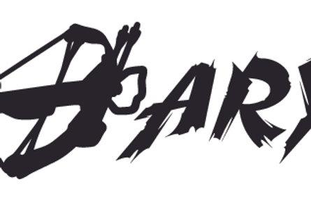 DARYL n Crossbow Walking Dead Decal Sticker