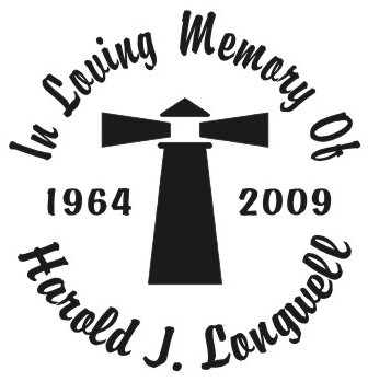 In loving memory of lighthouse Decal Sticker