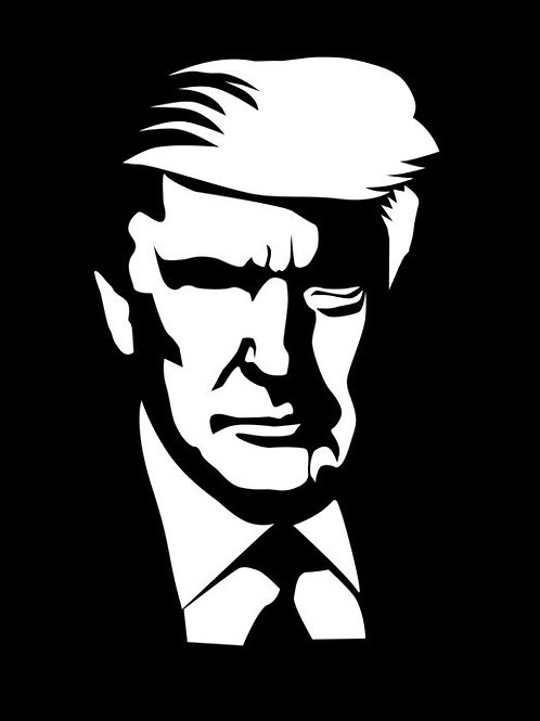 The Man The Lengend TRUMP Decal Sticker