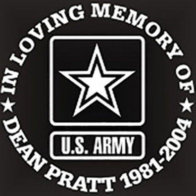 In loving memory of ARMY Decal Sticker