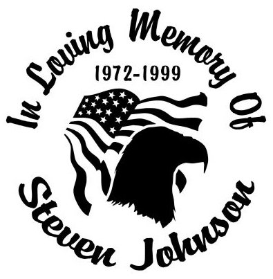 In loving memory of eagle flag Decal Sticker