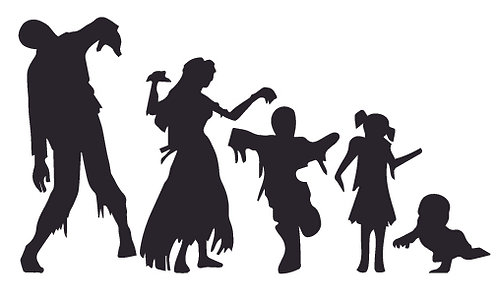 MY ZOMBIE FAMILY Decal Sticker