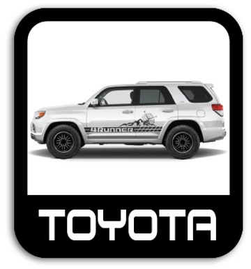 Toyota Stickers & Stripe Kits