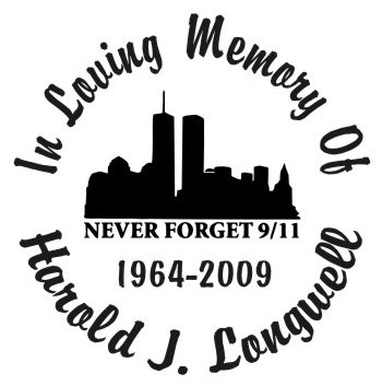 In loving memory of 911 Decal Sticker