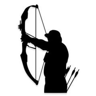 Bow Hunters Mark Decal Sticker