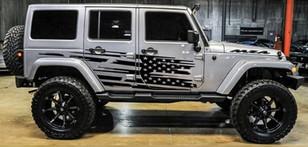 Full Side jeep Flag Splash
