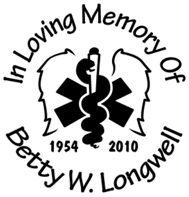 In memory of nurse doctor medical Decal Sticker