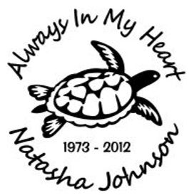 Always in my heart sea turtle In Memory of Decal Sticker