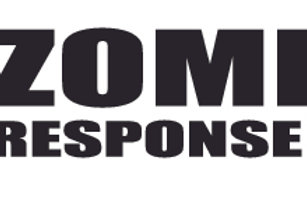 Biohazard Mask Skull Zombie Response Team Decal Sticker